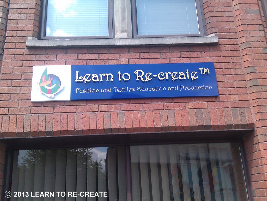 'Exterior of Learn to Re-create premises