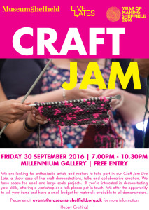 Craft Jam flyer.indd